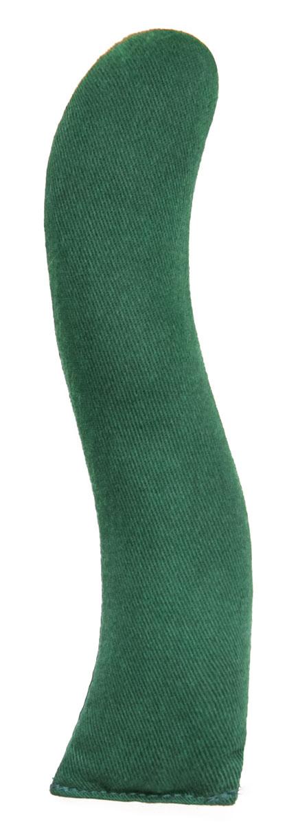 Игрушка для кошек Smart Textile Змейка, с кошачьей мятой, цвет: зеленый, 18 смGC329Оригинальная игрушка Smart Textile Змейка со 100% натуральной кошачьей мятой обязательно привлечет внимание вашего любимца, а ее большой размер идеально подойдет для активной игры - ведь четвероногий питомец сможет не только кусать и грызть игрушку, но и царапать всеми лапами одновременно! Эта игра приведет в тонус мышцы всего тела, как если бы ваш любимец охотился.
