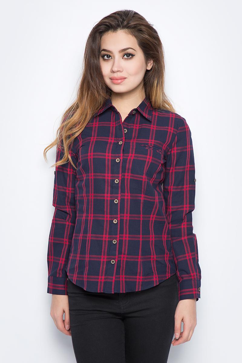 Рубашка женская Bello Belicci, цвет: темно-синий. SA12_9. Размер XXL (50) рубашка женская bello belicci цвет белый sa9 12 размер xxl 50