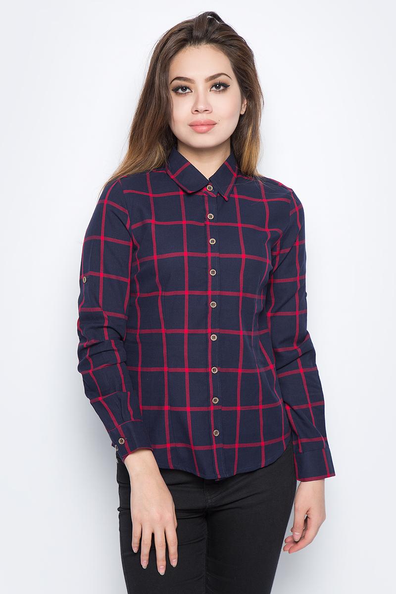 Рубашка женская Bello Belicci, цвет: темно-синий. SA1_9. Размер XL (48) тонер картридж mx 500gt