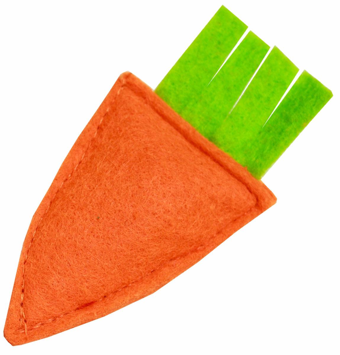 Игрушка для кошек Smart Textile Мини Морковка, с кошачьей мятой, цвет: оранжевый, 5 смGC393Если вы часто путешествуете, посещаете гостей и выставки вместе с вашим любимцем, то игрушка Smart Textile Мини Морковка создана специально для вас и вашего питомца. Аромат 100% натуральной кошачьей мяты успокоит питомца и даст возможность комфортно перенести дорогу или переезд. Миниатюрный размер игрушки позволит положить ее в карман сумки или куртки.