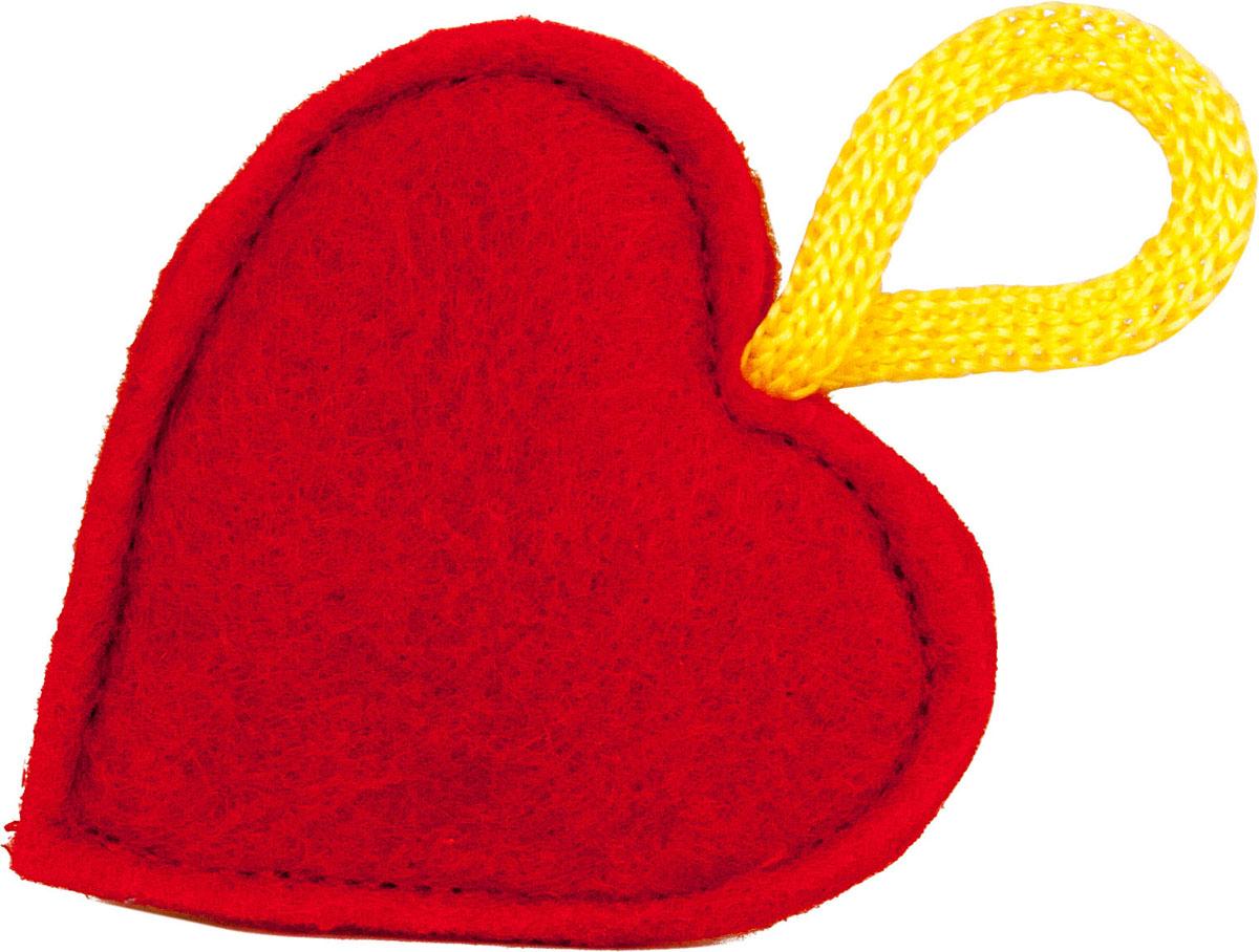Игрушка для кошек Smart Textile Мини Сердечко, цвет: красныйGC478Игрушки с Кошачьей Мятой 5 см. «Играй вместе с нами всегда и везде»Если Вы часто путешествуете, посещаете гостей и выставки вместе с Вашим любимцем, то коллекция «Играй вместе с нами всегда и везде» создана специально для Вас и Вашего питомца. Великий Кот предлагает серию Мини-игрушек, которую Вы всегда можете взять с собой. Аромат 100% натуральной кошачьей мяты успокоит питомца и даст возможность комфортно перенести дорогу или переезд. Миниатюрный размер игрушки позволит положить ее в карман сумки или куртки.