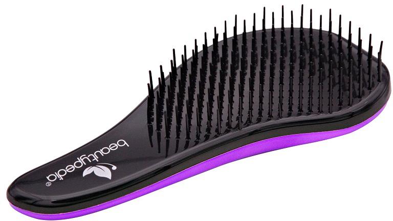 Beautypedia Распутывающая расческа Comfort, цвет: фиолетовый2000531694325Расческа Beautypedia comfort легко справляется с запутанными, длинными, мокрыми волосами, прекрасно прочесывает даже самую густую шевелюру, обладает антистатическим эффектом, легко расчесывает пряди от корней до самых кончиков, не повреждая и не выдирая волосы. Перед расчесыванием можно нанести сыворотку, маску или кондиционер. Расческа имеет привлекательный дизайн и компактные размеры, что сделает ее незаменимым аксессуаром в вашей сумочке.