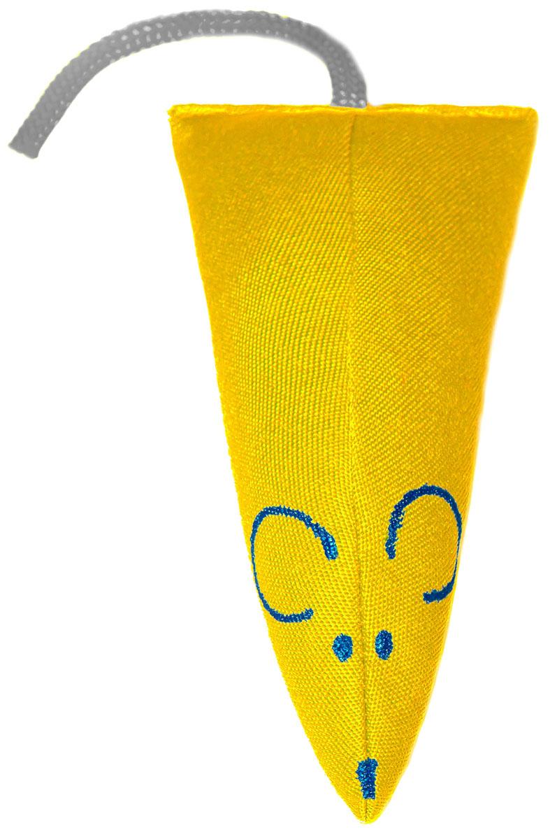 Игрушка для кошек Smart Textile Мышка, цвет: желтый, 12 смGC815Игрушка для кошек Smart Textile Мышка с наполнителем из 100% натуральной кошачьей мяты имеет оптимальный размер, позволяющий вашему питомцу выполнить полезную зарядку, ведь котик обязательно захочет вцепиться в игрушку всеми своими коготками и клыками, для чего потребуется хорошенько растянуться!