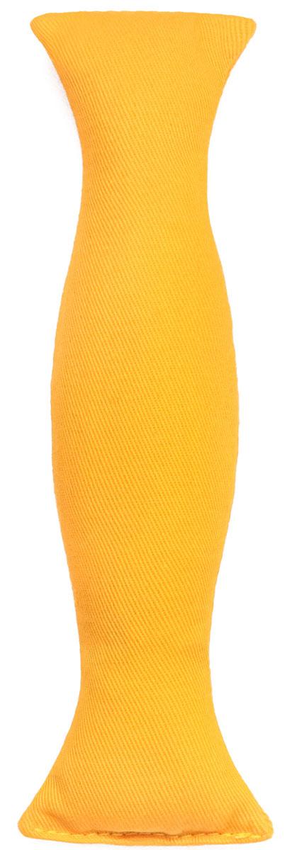 Игрушка для кошек Smart Textile Сладкая конфетка, с кошачьей мятой, цвет: желтыйGC547Игрушка для кошек Smart Textile Сладкая конфетка изготовлена из натурального хлопка и выполнена в виде конфеты. Игрушка с наполнителем из 100% натуральной кошачьей мяты способна успокоить кошку после активной игры или взбодрить если питомец ленится. Форма и размеры игрушки созданы специально для того, чтобы кошка смогла играть ей всеми лапами одновременно. Забавные и безопасные, игрушки способны отвлечь и успокоить питомца в различных поездках или у ветеринара, будут отличным стимулом для привлечения любимца к порядку.Размеры: 19 х 4,5 х 2 см.