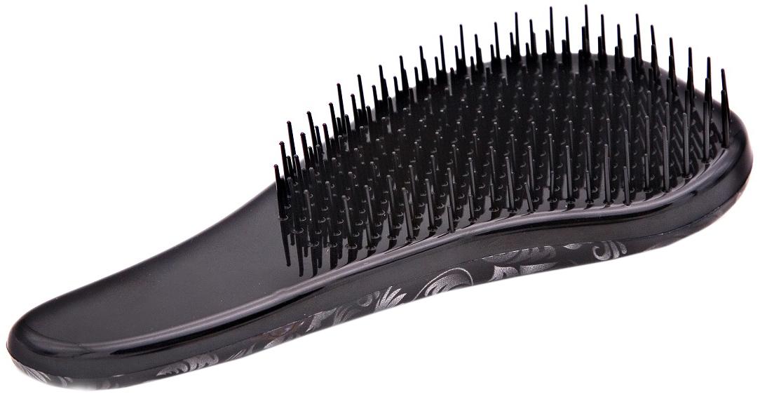 Beautypedia Распутывающая расческа Comfort, цвет: черный2000531696954Расческа Beautypedia comfort легко справляется с запутанными, длинными, мокрыми волосами, прекрасно прочесывает даже самую густую шевелюру, обладает антистатическим эффектом, легко расчесывает пряди от корней до самых кончиков, не повреждая и не выдирая волосы. Перед расчесыванием можно нанести сыворотку, маску или кондиционер. Расческа имеет привлекательный дизайн и компактные размеры, что сделает ее незаменимым аксессуаром в вашей сумочке.