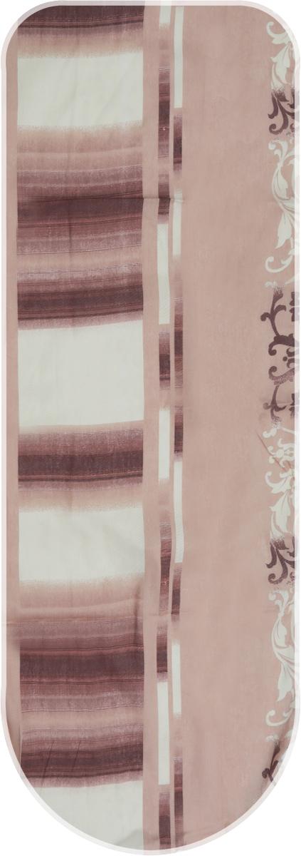 Чехол для гладильной доски Detalle, универсальный, цвет: какао, бежевый, 125 х 47 смЕ1301_голубой, желтый, белый, бордовыйЧехол для гладильной доски Detalle, выполненный из хлопка с подкладкой из мягкоговойлокообразного полотна (ПЭФ), предназначен для защиты или замены изношенного покрытиягладильной доски. Чехол снабжен стягивающим шнуром, при помощи которого вы легкоотрегулируете оптимальное натяжение чехла и зафиксируете его на рабочей поверхностигладильной доски. Из войлокообразного полотна вы можете вырезать подкладку любого размера, подходящуюименно для вашей доски. Этот качественный чехол обеспечит вам легкое глажение. Он предотвратит образование блескаи отпечатков металлической сетки гладильной доски на одежде. Войлокообразное полотнопрактично и долговечно в использовании. Размер чехла: 125 см x 47 см. Максимальный размер доски: 120 см х 42 см. Размер войлочного полотна: 130 см х 52 см.