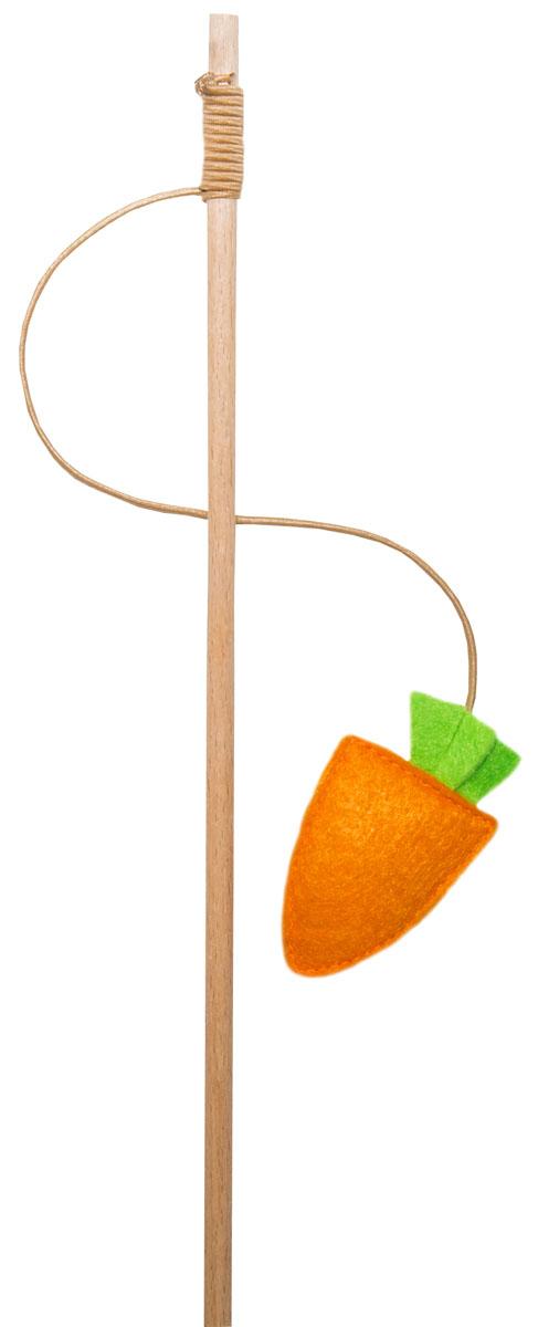 Игрушка-дразнилка для кошек Smart Textile + игрушка Морковка, цвет: оранжевыйGC860Удочки-дразнилки «Поймай меня, если сможешь» Удочки-дразнилки серии «Поймай меня, если сможешь» созданы специально для того, что бы Вы по-настоящему могли провести время с Вашим любимцем. Выбирая любую из представленных форм игрушек, Вы гарантировано дарите четвероногому питомцу аромат 100% натуральной кошачьей мяты, придающий дополнительный стимул к игре