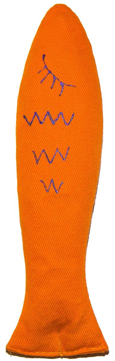 Игрушка для кошек Smart Textile Рыбка, с шуршащим элементом, цвет: оранжевый, 18 смGC679Шуршащие игрушки 18 см. «Для настоящих охотников!»?Серия игрушек «Для настоящих охотников!» со 100% натуральной кошачьей мятой дополнена специальным шуршащим элементом, что позволяет задействовать сразу 2 чувства четвероногого охотника: ОБОНЯНИЕ – 100% натуральная кошачья мята привлекает внимание семейства кошачьих, и СЛУХ – шуршащий элемент пробуждает инстинкт настоящего охотника!