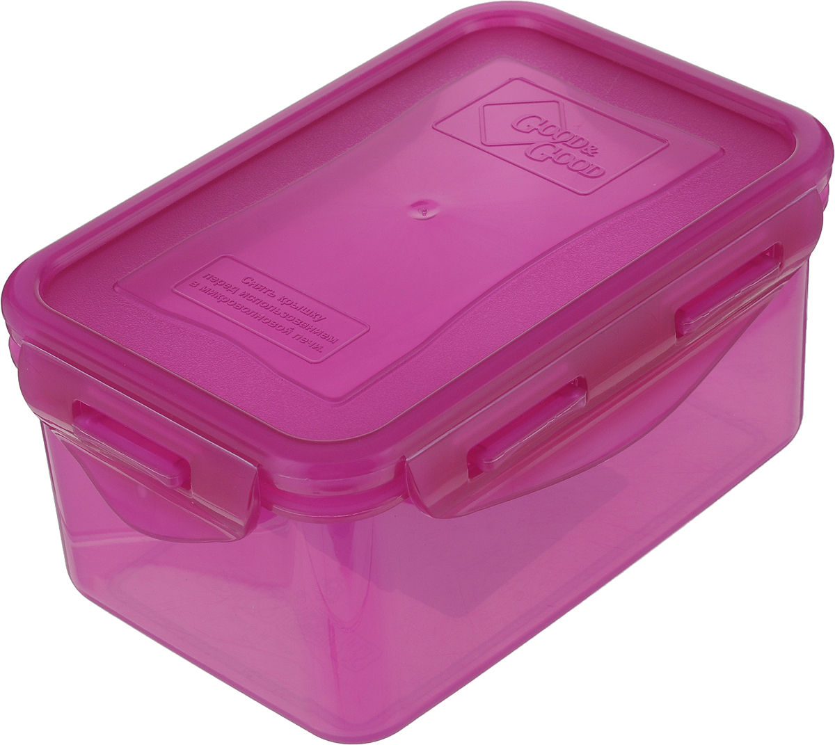 Контейнер пищевой Good&Good, цвет: фуксия, 800 мл контейнер пищевой good