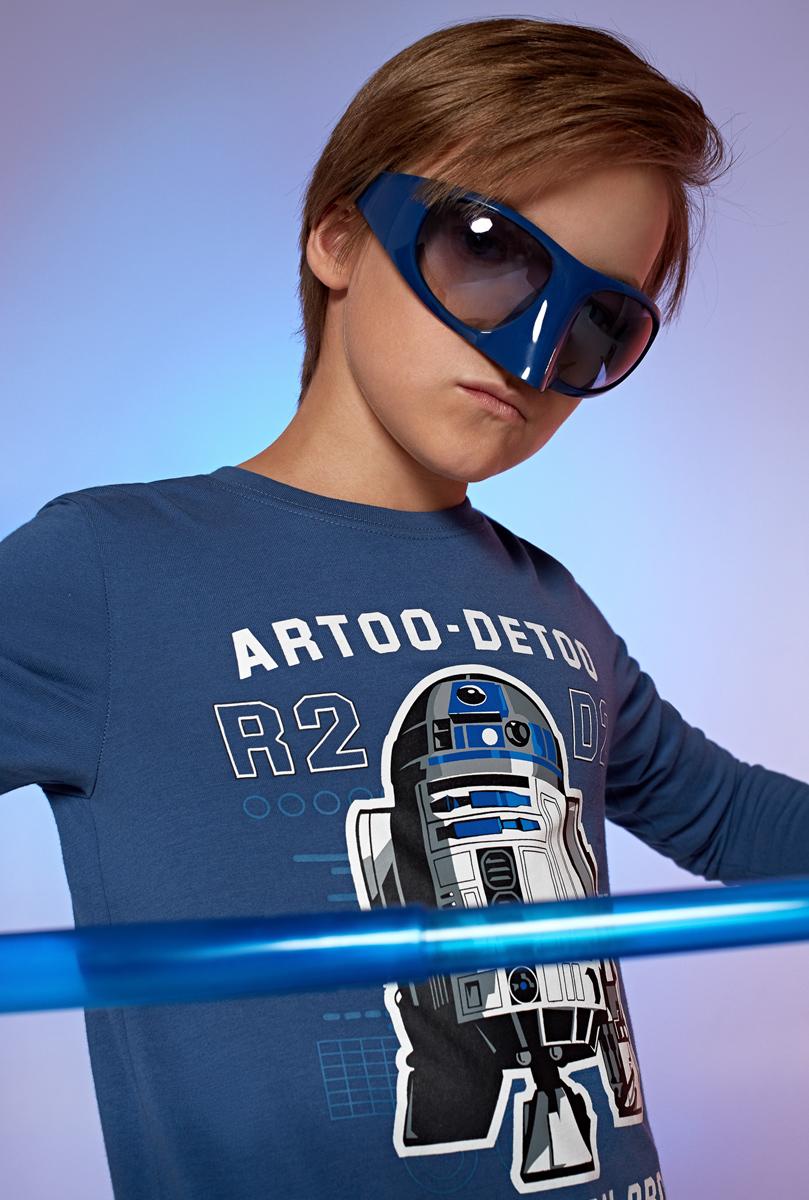 Лонгслив для мальчика Acoola Armidale, цвет: синий. 20110100100. Размер 14020110100100Лонгслив для мальчика Acoola выполнен из натурального хлопка. Модель с круглым вырезом горловины и длинными рукавами.