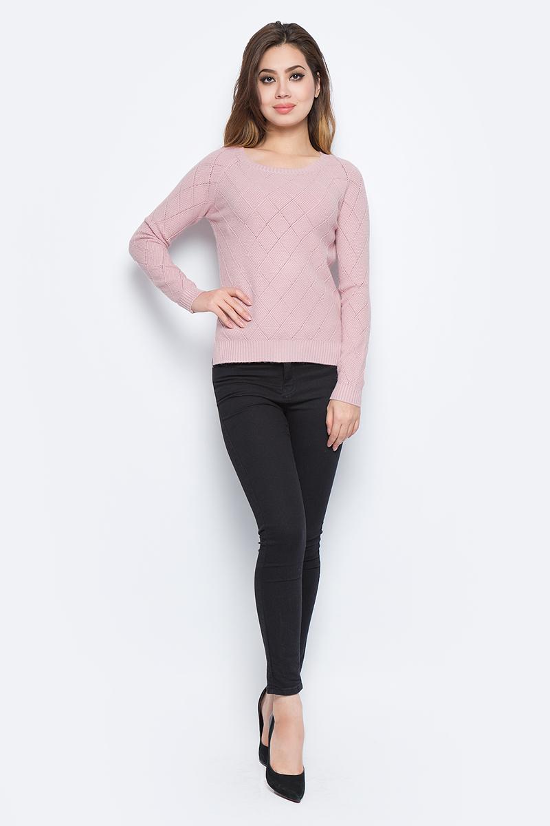 Джемпер женский Bello Belicci, цвет: розовый. RA4_6. Размер S/M (42/46)RA4_6