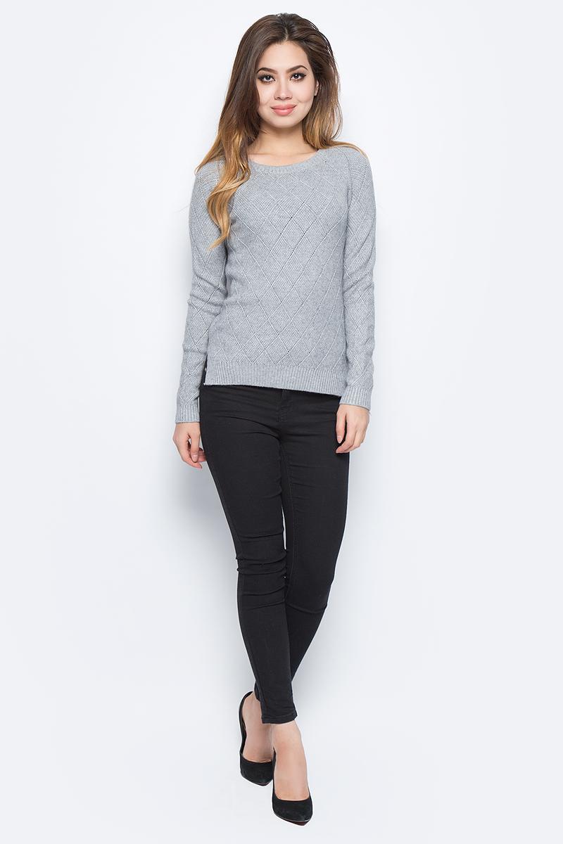 Джемпер женский Bello Belicci, цвет: серый. RA4_2. Размер S/M (42/46)RA4_2