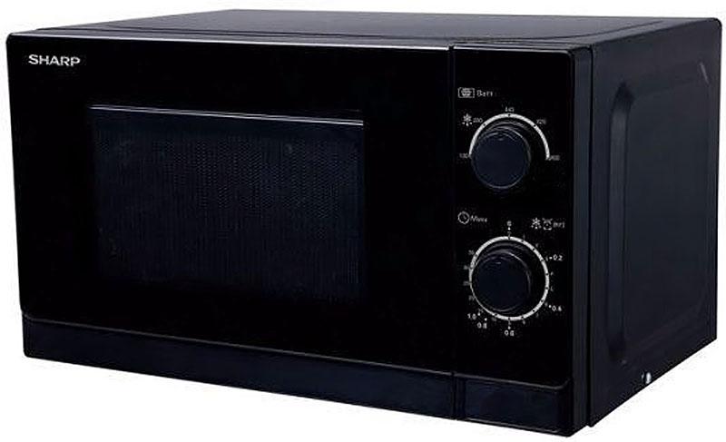 Sharp R-2000RK, Black микроволновая печьR-2000RKМикроволновая печь Sharp R-2000RK - это стильная модель, которая станет прекрасным дополнением на вашей кухне. Данный прибор имеет механический тип управления, которое осуществляется с помощью поворотных переключателей на удобно расположенной панели. Дверца открывается при помощи кнопки. Объем камеры позволяет размещать достаточно большое количество продуктов. Внутри камера освещена. Имеется 5 уровней мощности.Благодаря своей многофункциональности, устройство может быстро разогреть обед и разморозить продукты.
