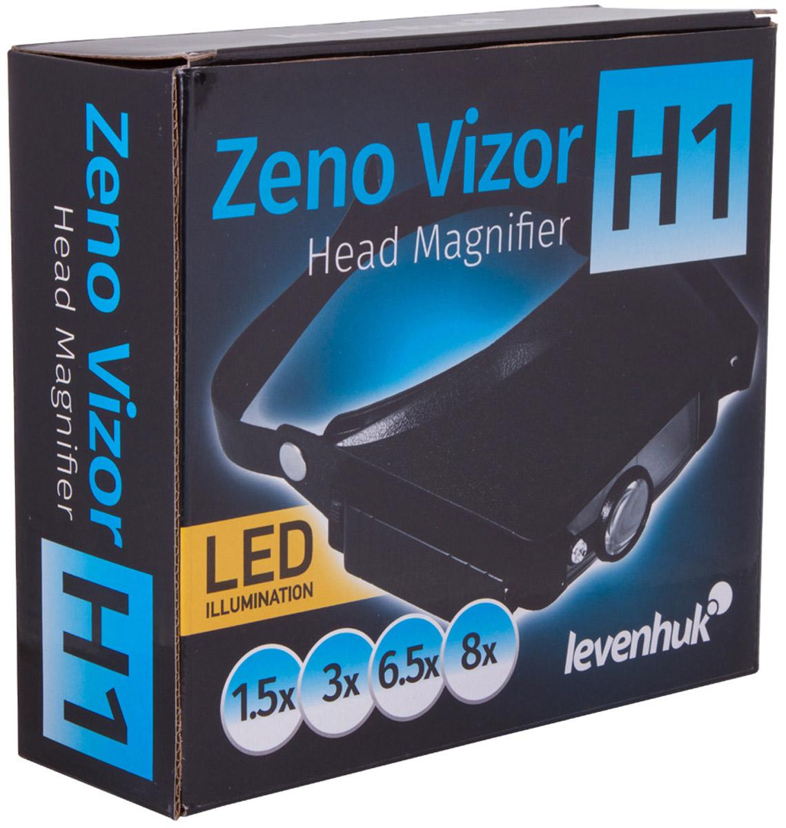Levenhuk Zeno Vizor H1лупа налобная Levenhuk