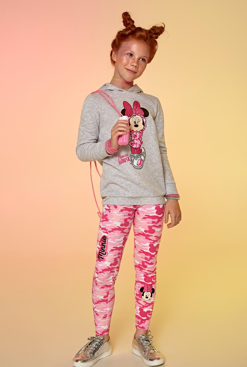 Толстовка для девочки Acoola Gympie, цвет: серый. 20210100139. Размер 152