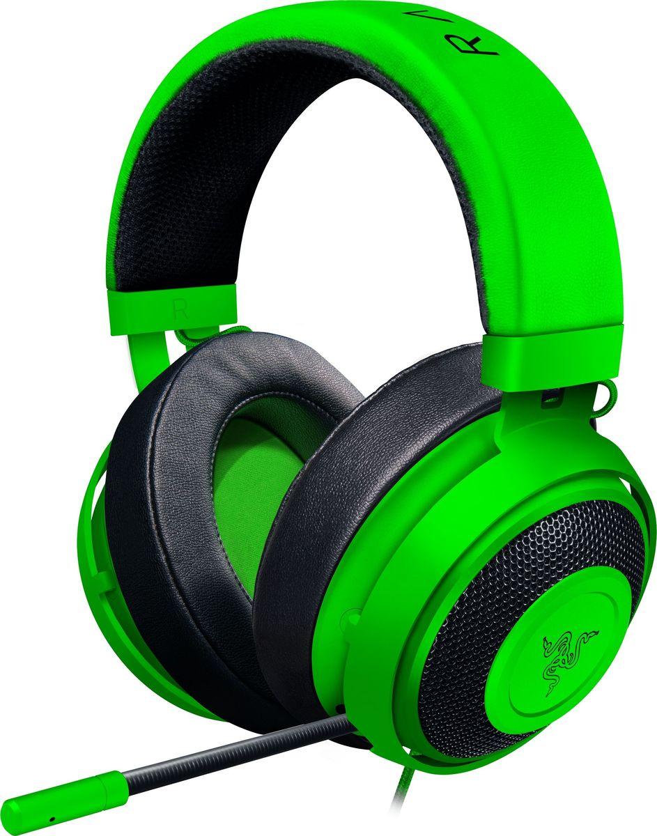 Razer Kraken Pro V2 Oval, Green игровая гарнитура - Наушники
