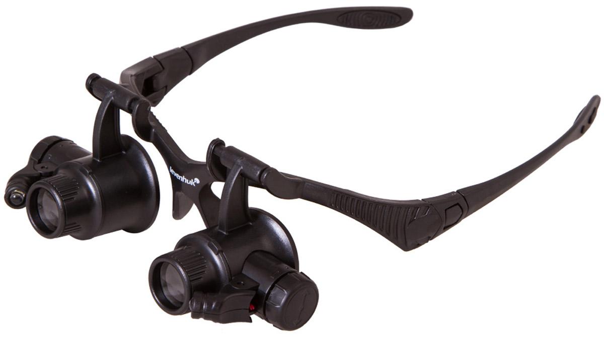 Levenhuk Zeno Vizor G4 лупа-очки - Полезные мелочи