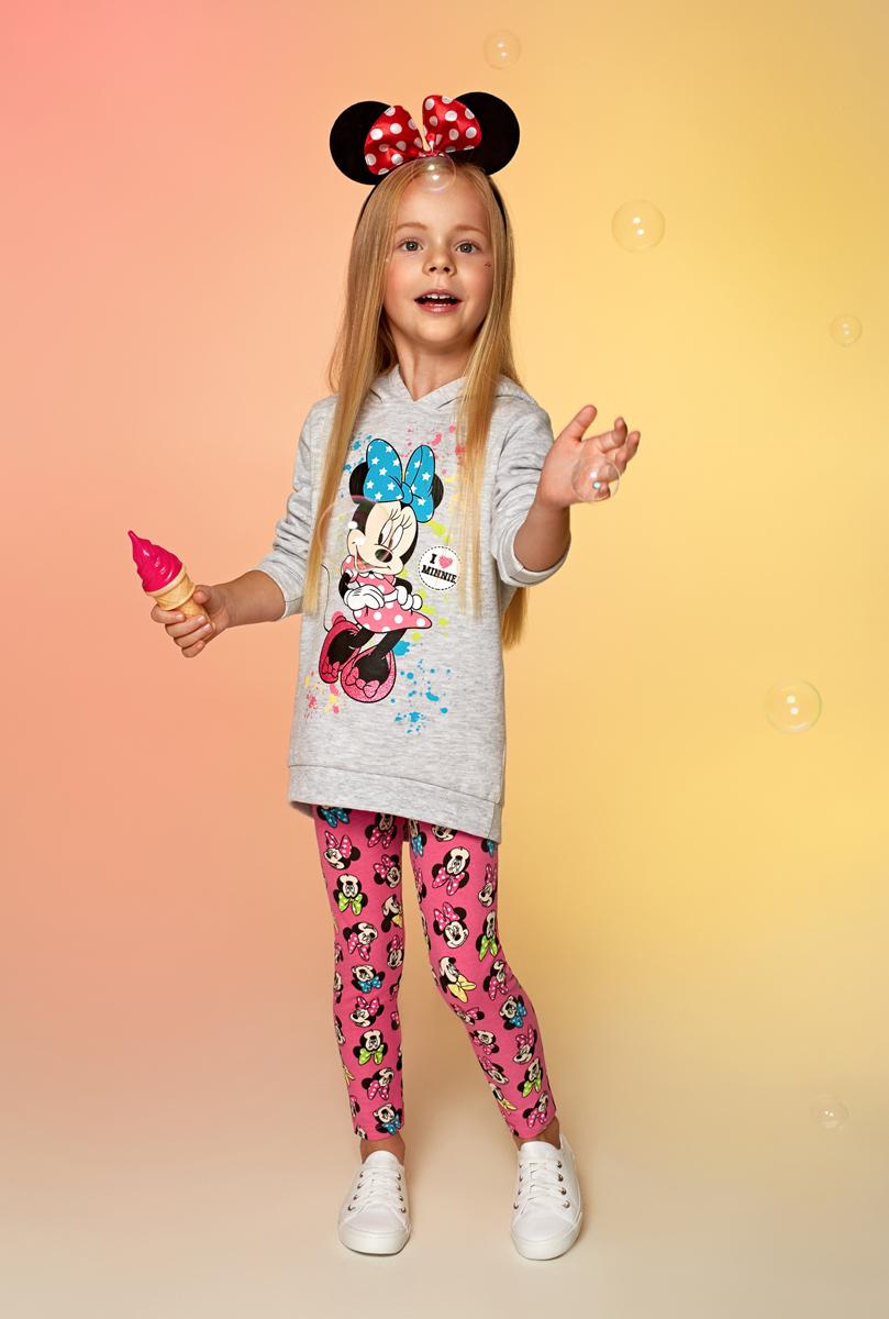 Толстовка для девочки Acoola Gympie, цвет: серый. 20220100126. Размер 12820220100126Толстовка для девочки Acoola выполнена из качественного материала. Модель с капюшоном и длинными рукавами.