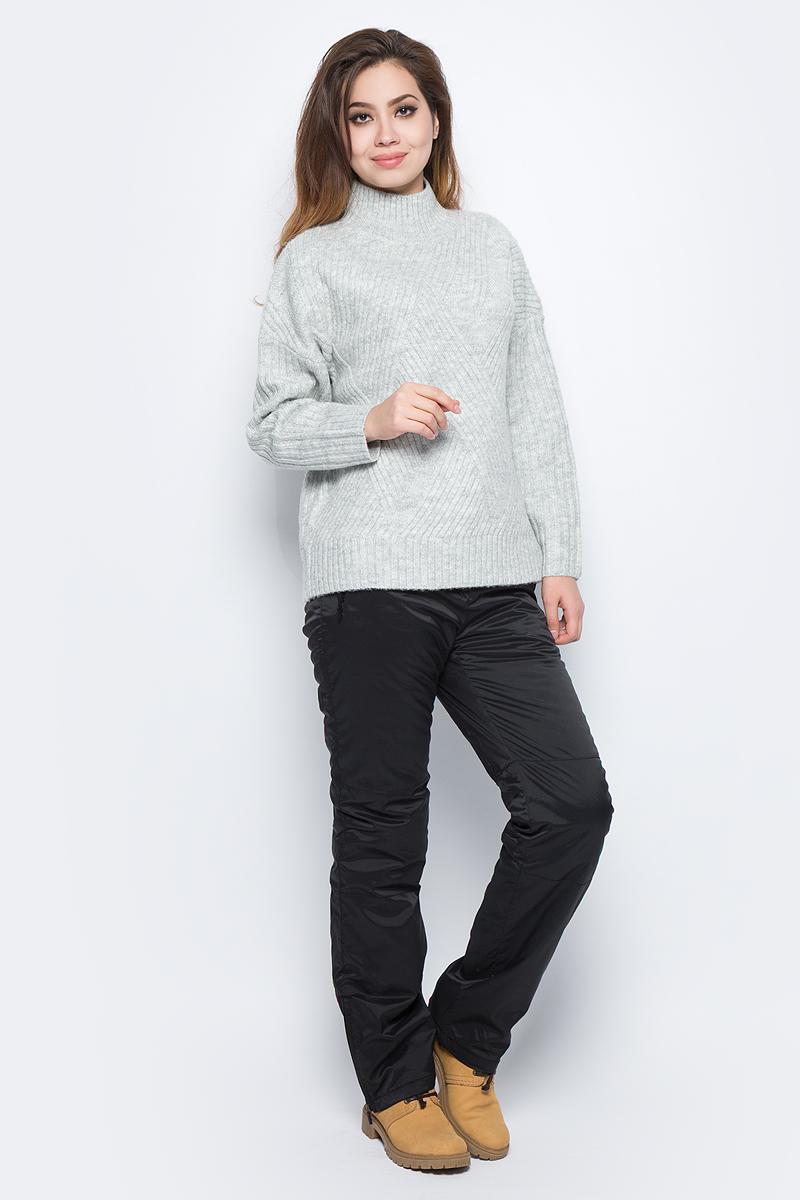 Брюки женские Baon, цвет: черный. B297505_Black. Размер XS (42)B297505_BlackЖенские утепленные брюки Baon отлично подойдут для холодной погоды. Модель выполнена из водоотталкивающей ткани на мягкой подкладке. Брюки застегиваются на кнопку в поясе и имеют ширинку на застежке-молнии, также имеются шлевки для ремня. Спереди модель дополнена двумя врезными карманами на застежках-молниях. Внизу брючины дополнены вшитыми застежками-молниями.