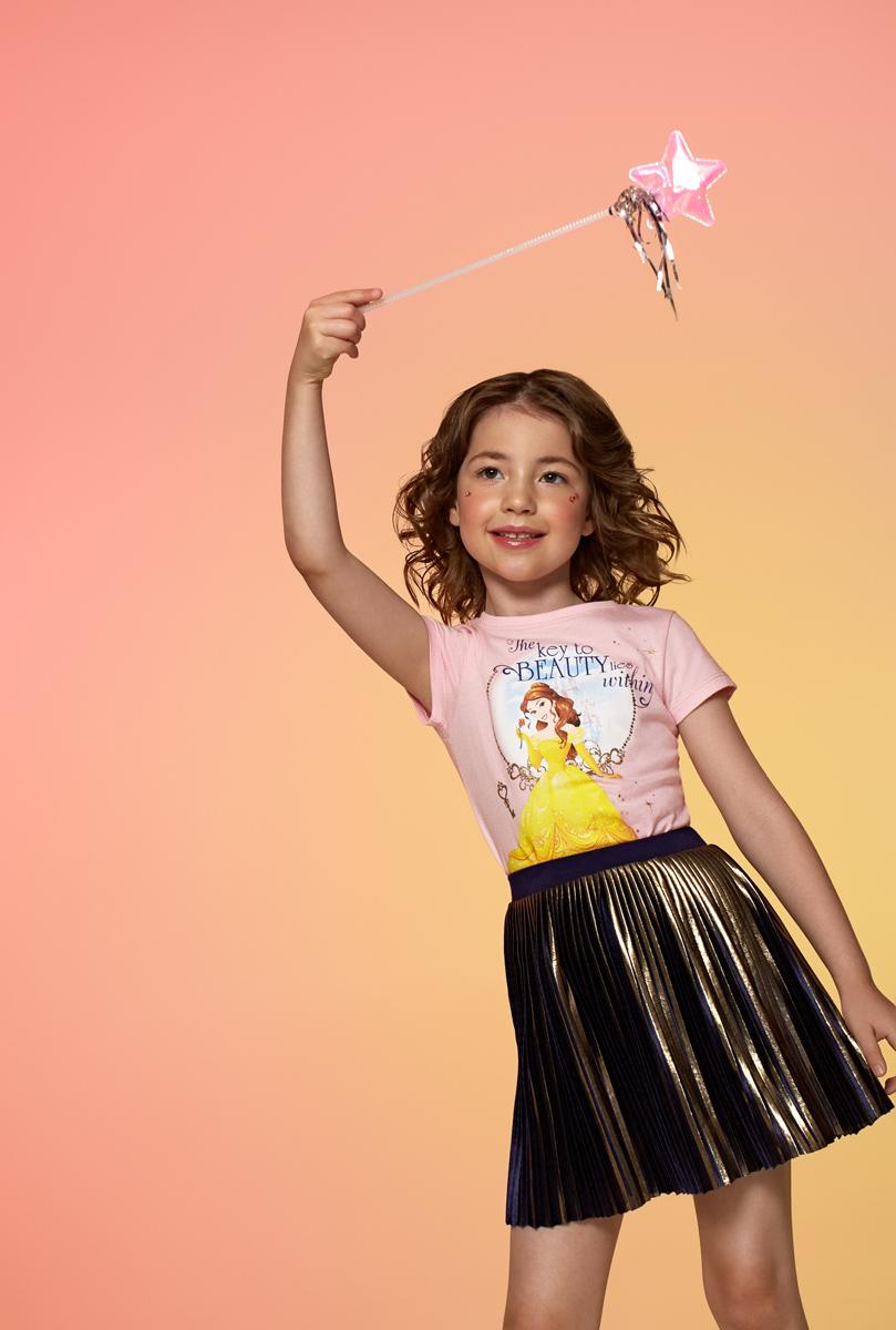 Футболка для девочки Acoola Ballarat, цвет: розовый. 20220110104. Размер 128 футболка с длинным рукавом для девочки acoola avon цвет светло розовый 20210100132 размер 164