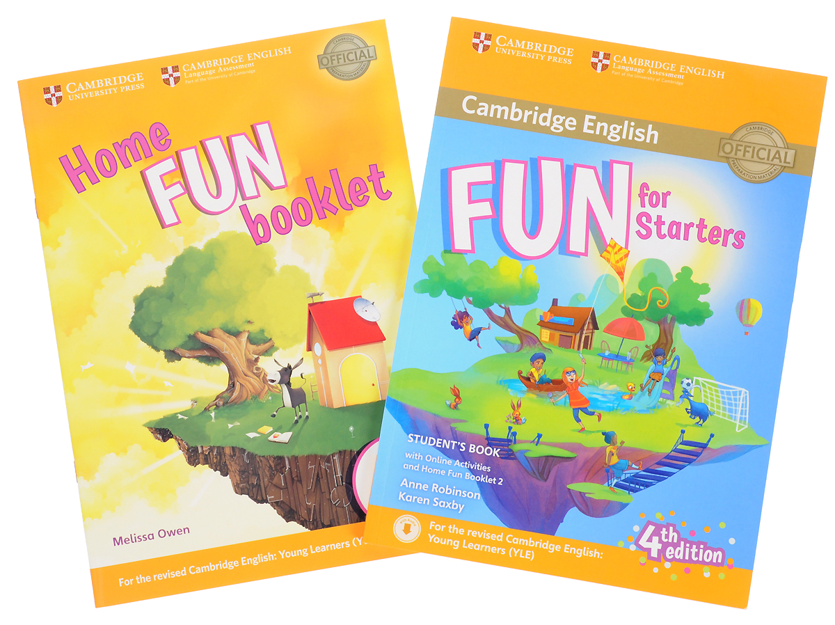 Fun for Starters: Student's Book (with Online Activities with Audio with Home Fun Booklet 2) touchstone teacher s edition 4 with audio cd