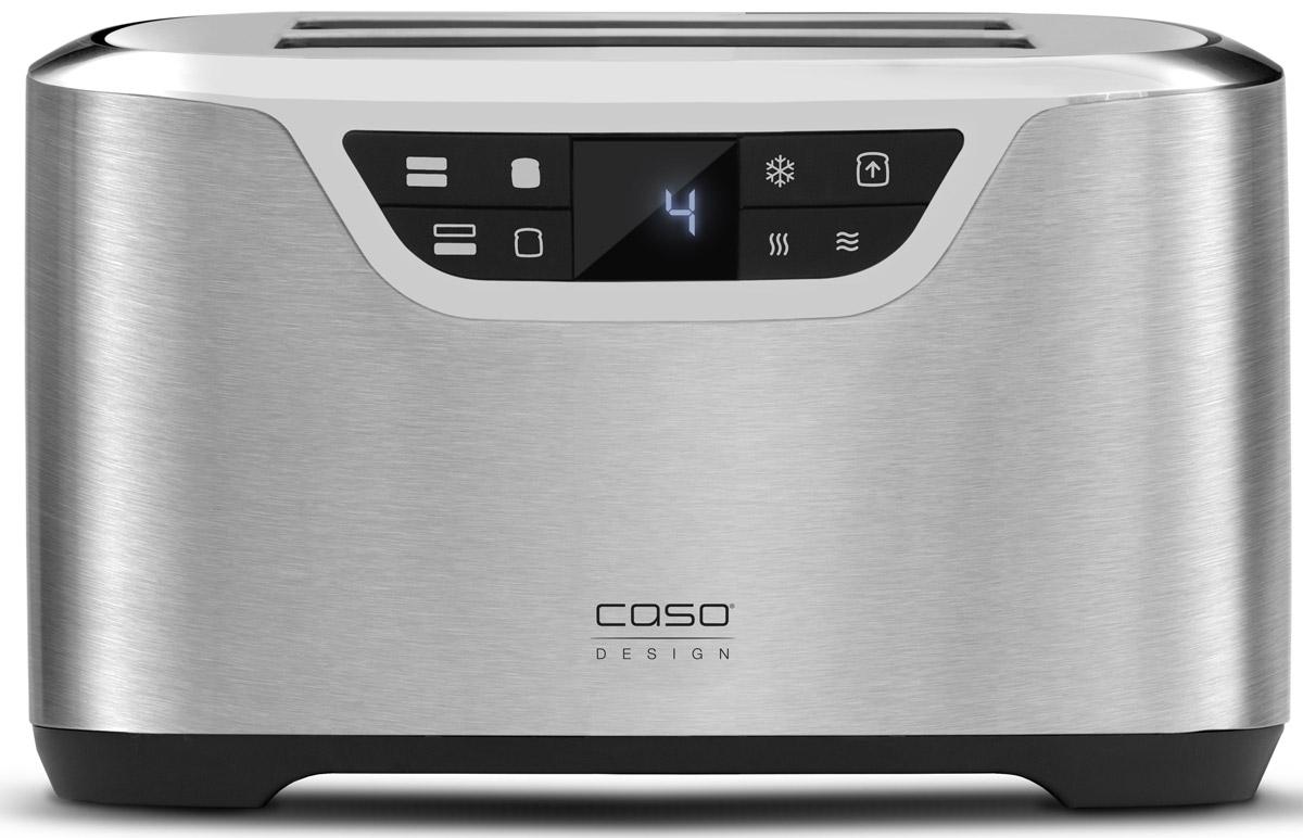 CASO T2 тостер00-00001439CASO T2 - простой в использовании тостер, с помощью которого можно быстро получить на завтрак хлеб, поджаренный в соответствии с вашими предпочтениями. Также его можно использовать для подогрева булочек. Благодаря корпусу из матовой нержавеющей стали с хромированными вставками выглядит он особенно элегантно. Эта модель оборудована двумя длинными слотами. Устройство автоматически отключается при перегреве и застревании кусочков хлеба.
