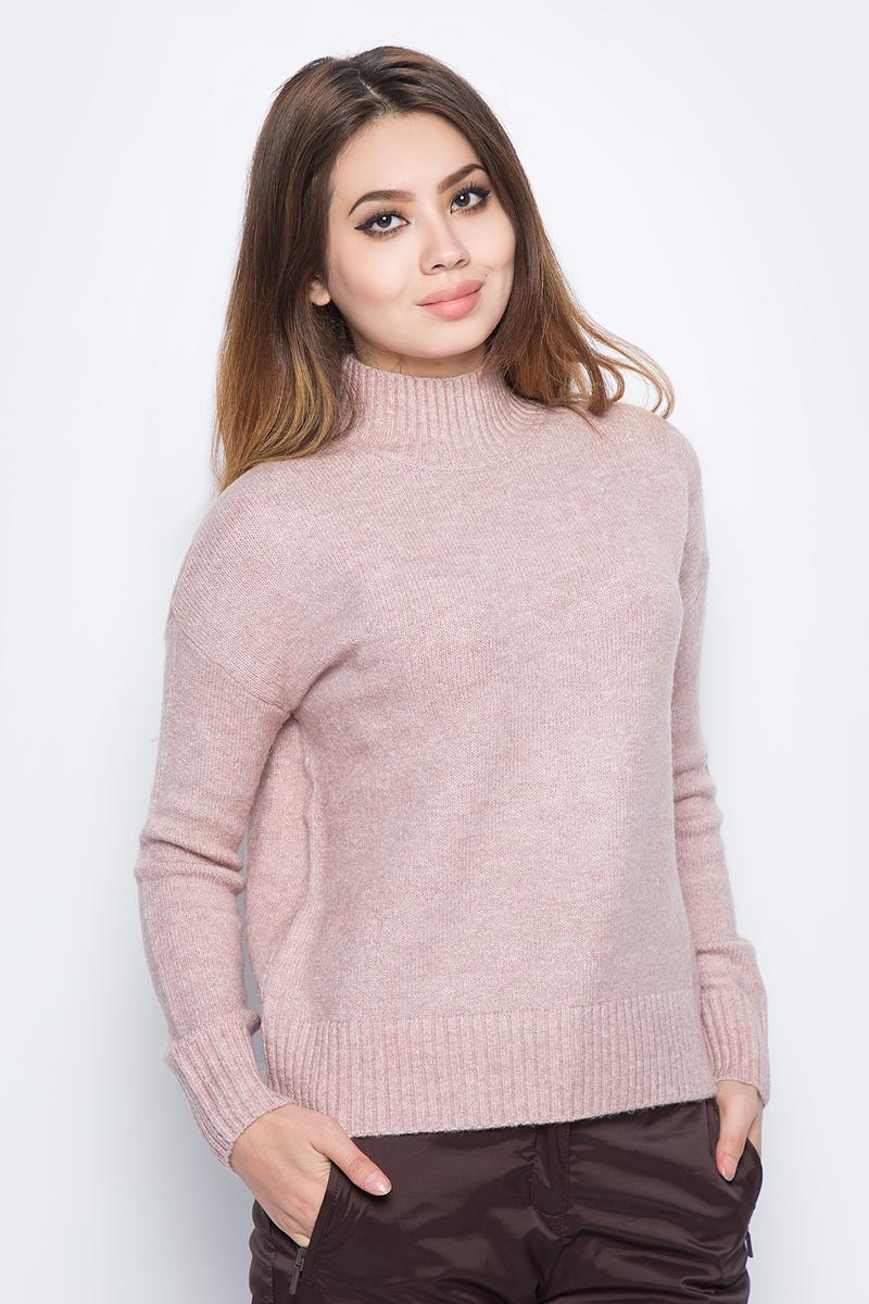 Джемпер женский Baon, цвет: розовый. B137582_Old Rose Melange. Размер L (48) джемпер женский baon цвет бежевый b137564 muscovite melange размер l 48
