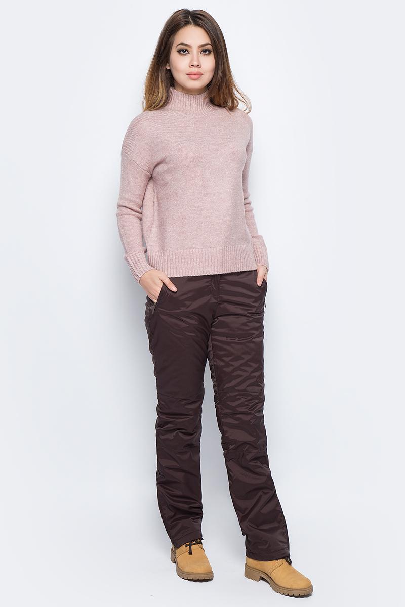 Джемпер женский Baon, цвет: розовый. B137582_Old Rose Melange. Размер L (48) платье baon цвет серый b457530 silver melange размер l 48