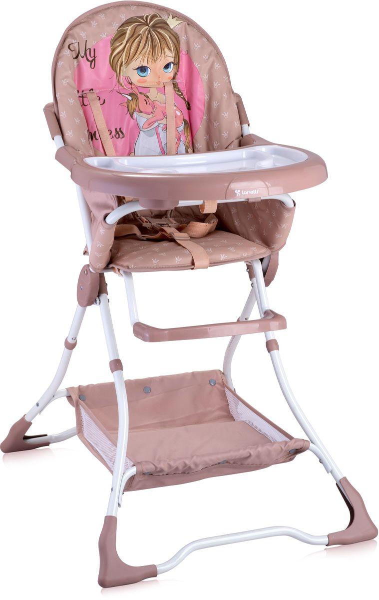 Lorelli Стульчик для кормления Bravo розово-бежевый 10100061703 стульчики для кормления lorelli стульчик для кормления lorelli candy