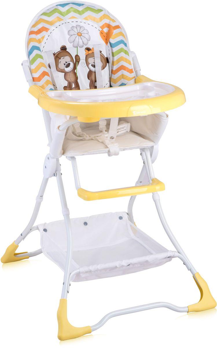 Lorelli Стульчик для кормления Bravo желтый 10100061717 стульчики для кормления lorelli стульчик для кормления lorelli candy