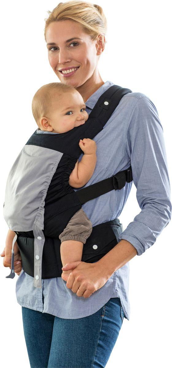Amazonas Эргономичный слинг-рюкзак Amazonas Smart Carrier цвет черный - Рюкзаки, слинги, кенгуру