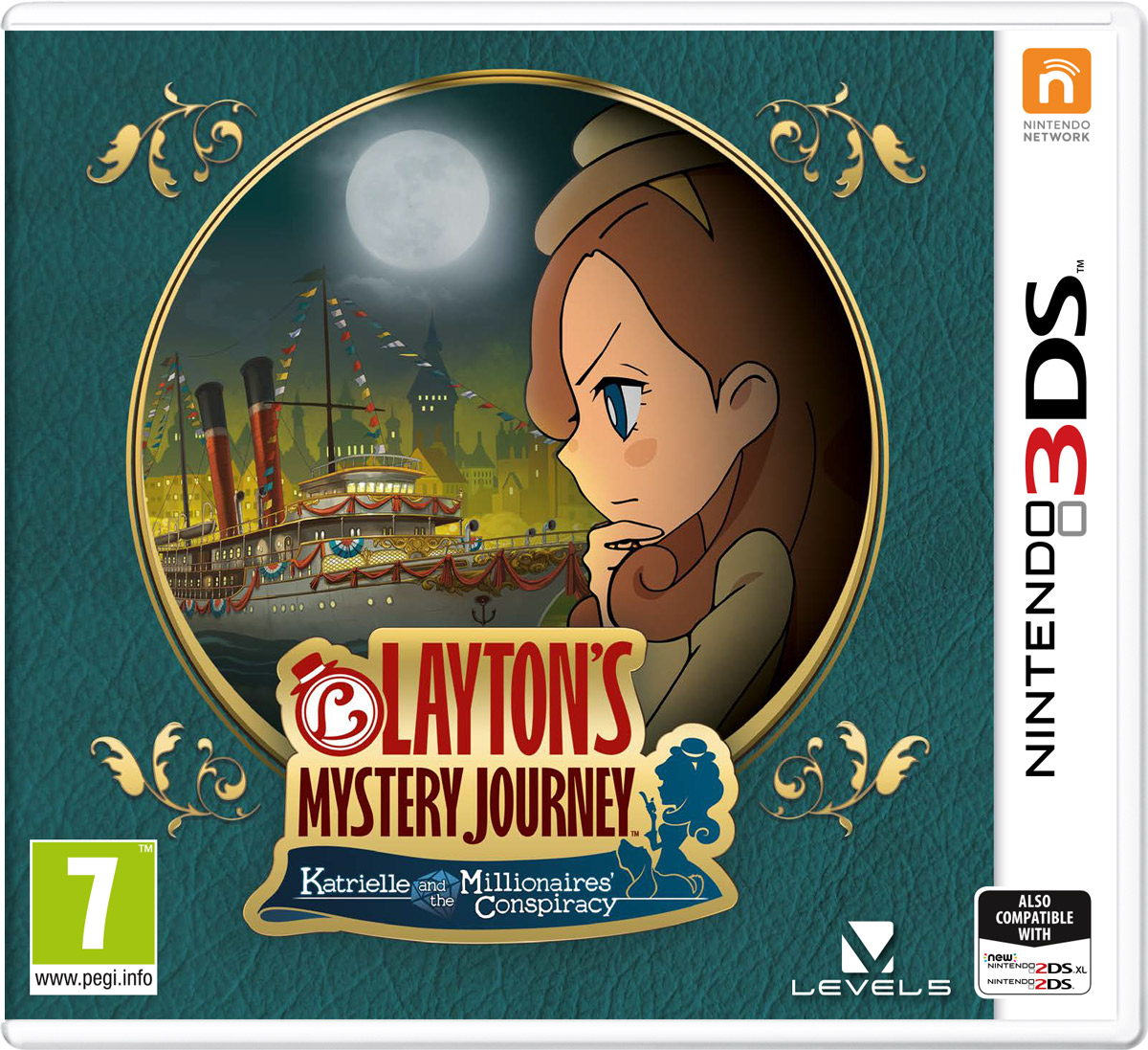 Layton's Mystery Journey: Katrielleand the Millionaires' Conspiracy (3DS) morais r the hundred foot journey