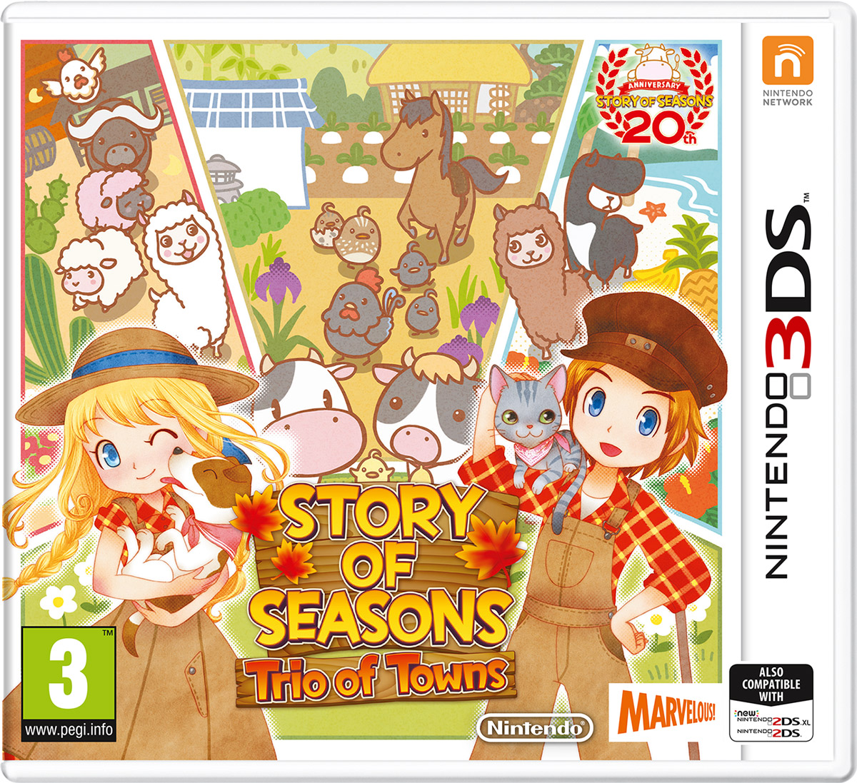Story of Seasons: Trio of Towns (3DS) пальто alix story alix story mp002xw13vuo