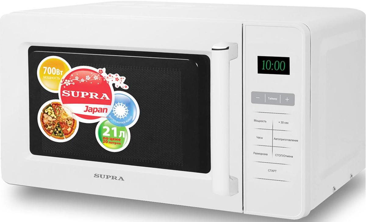цена на Supra MWS-2103SS микроволновая печь