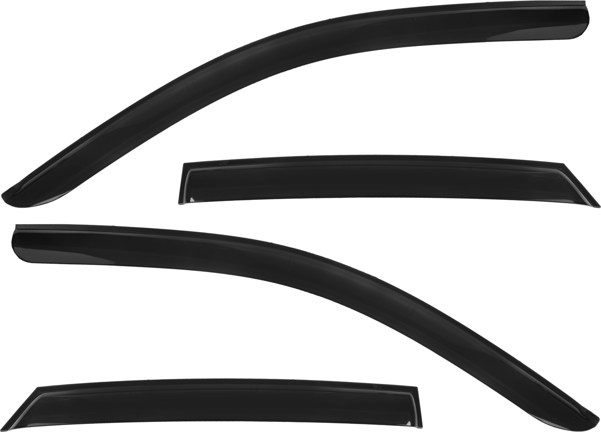 Дефлекторы окон Autoclover, для Hyundai Elantra 2001-2006/Avante XD HB, 4 шт дефлекторы окон autoclover для hyundai elantra 2001 2006 avante xd hb 4 шт