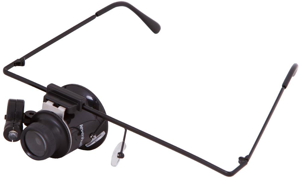 Levenhuk Zeno Vizor G1 лупа-очки - Полезные мелочи