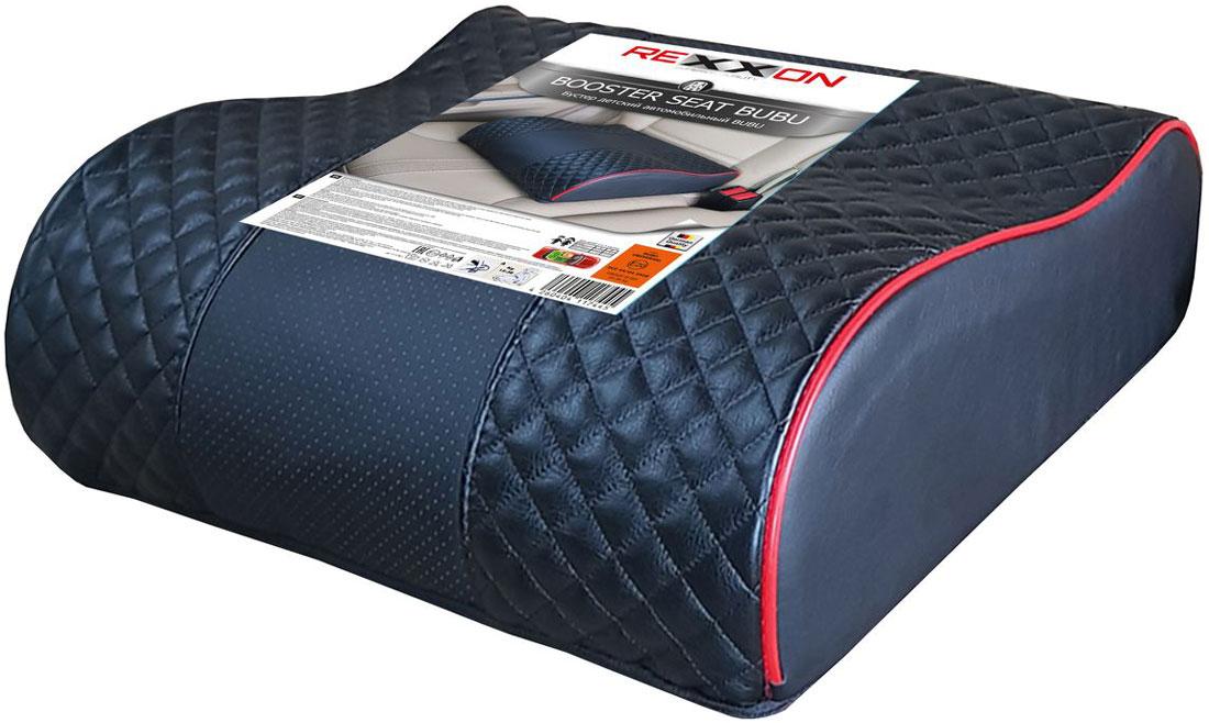 Бустер автомобильный Rexxon Bubu Elegance, от 9 до 36 кг, с 3 до 12 лет, цвет: черный3-1-3-20-1Автомобильный бустер Rexxon, группа 2/3, для детей весом от 9 до 36 кг, возраст с 3 до 12 лет. Компактный и легкий.