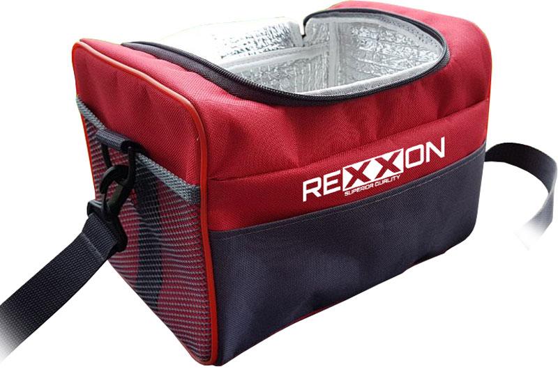 Термосумка Rexxon, цвет: красный, 6 л6-9-1-6-1Термосумка Rexxon, изготовленная из нейлона с внутренним покрытием из фольги, длительное время сохраняет холод в летние дни и тепло зимой. Оснащена ручками и наплечным ремнем.