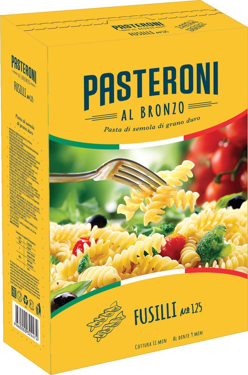 Pasteroni фузилли №125, 450 г ростагроэкспорт желе апельсин 125 г