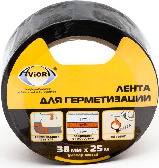 Лента клейкая Aviora, для герметизации, цвет: черный, 38 мм х 25 м302-049Применяется для герметизации стыков теплоизоляции из вспененного каучука, стыков пластиковых труб, а также для герметизации опасных участков соединений и конструкций, находящихся в широком диапазоне температур. Благодаря отличной адгезии и высокой эластичности плотно прилегает к поверхности, обеспечивает стабильность при работе под давлением и в агрессивных средах. Высокая степень защиты от коррозии.