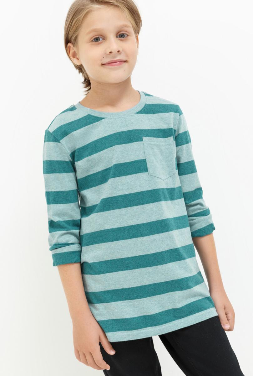 Джемпер для мальчика Acoola Dima, цвет: бирюзовый. 20110100104. Размер 13420110100104