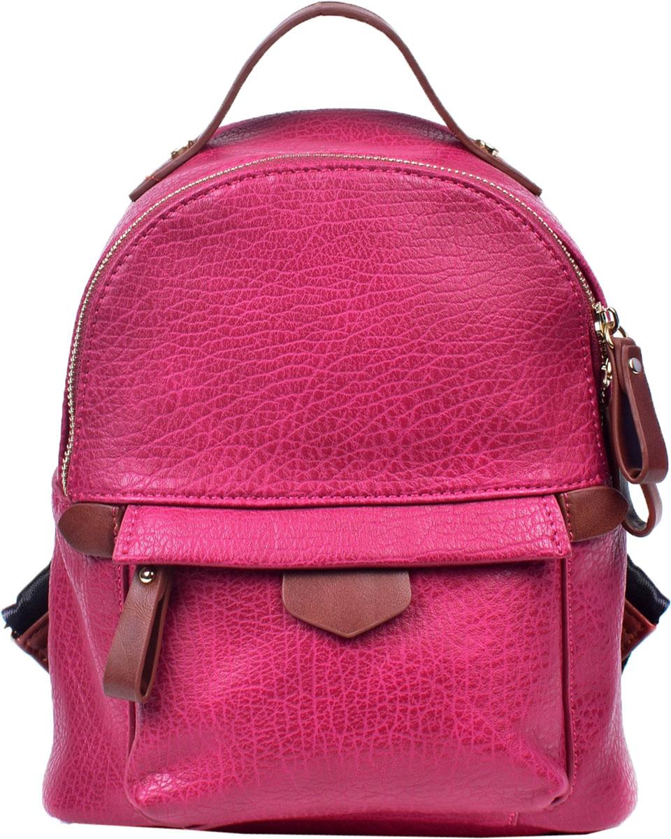 Сумка-рюкзак женская Renee Kleri, цвет: фуксия. RK419-13 - Сумки