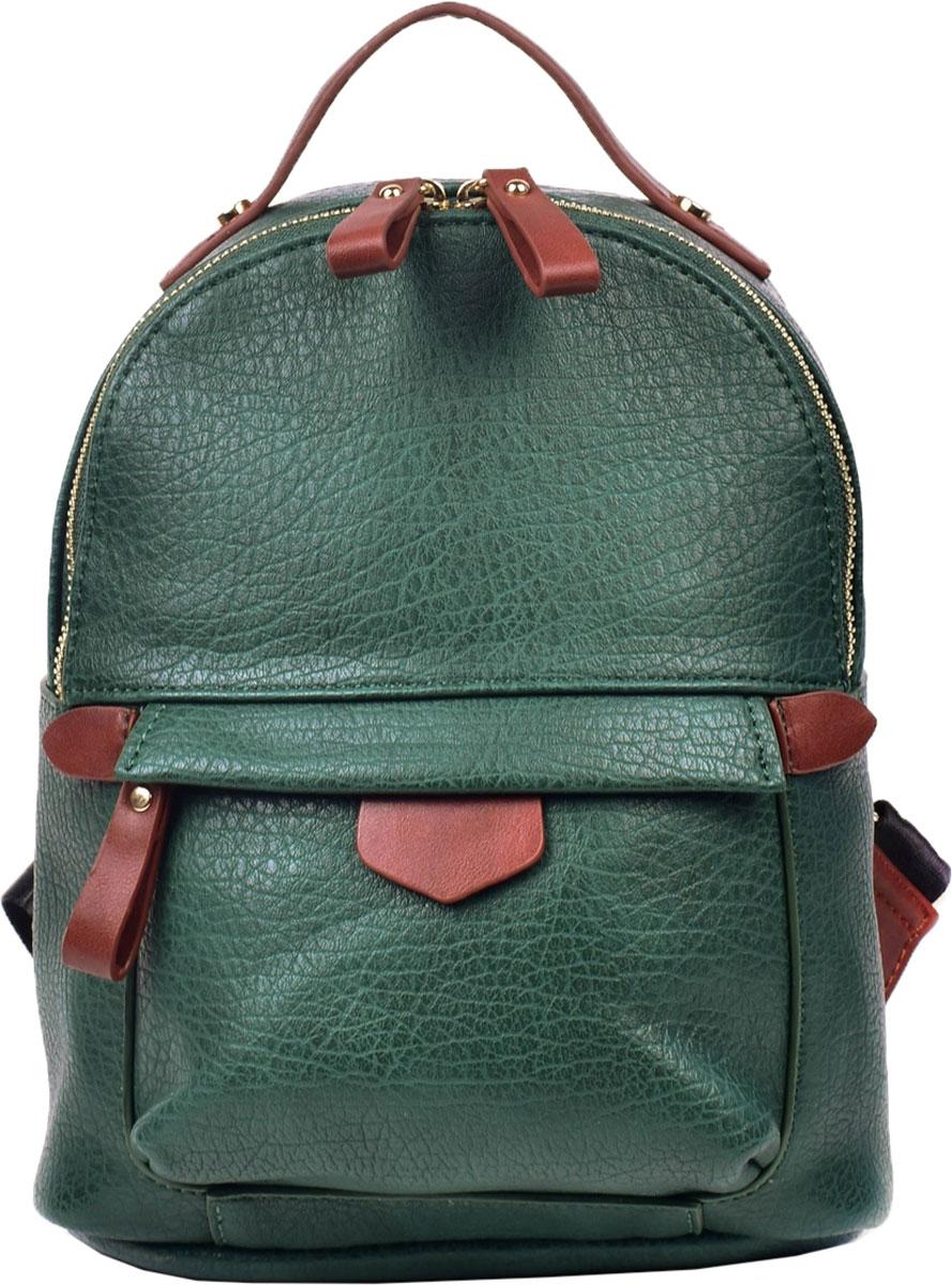 Сумка-рюкзак женская Renee Kleri, цвет: зеленый. RK419-08 - Сумки