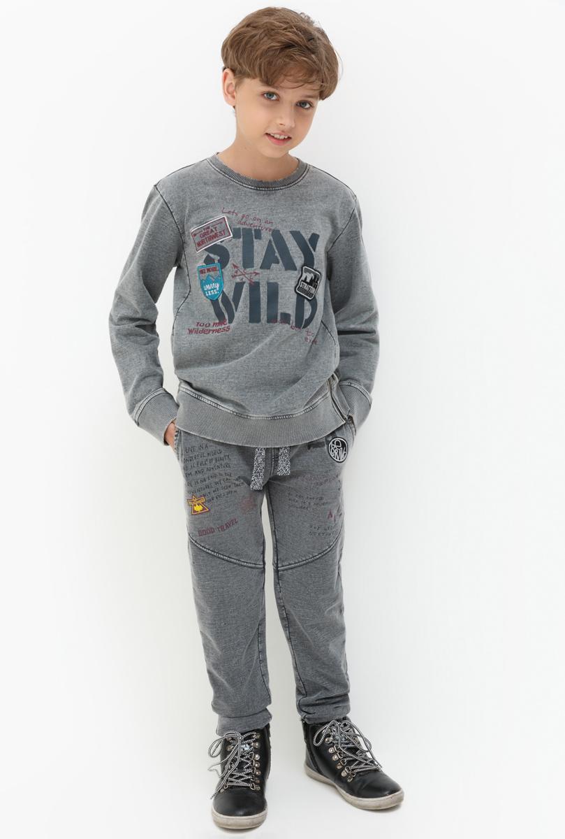 Брюки для мальчика Acoola Tamales, цвет: серый. 20110160118. Размер 16420110160118Стильные брюки для мальчика Acoola идеально подойдут вашего модника. Изделие выполнено из качественного материала. Такие брюки займут достойное место в гардеробе вашего ребенка.