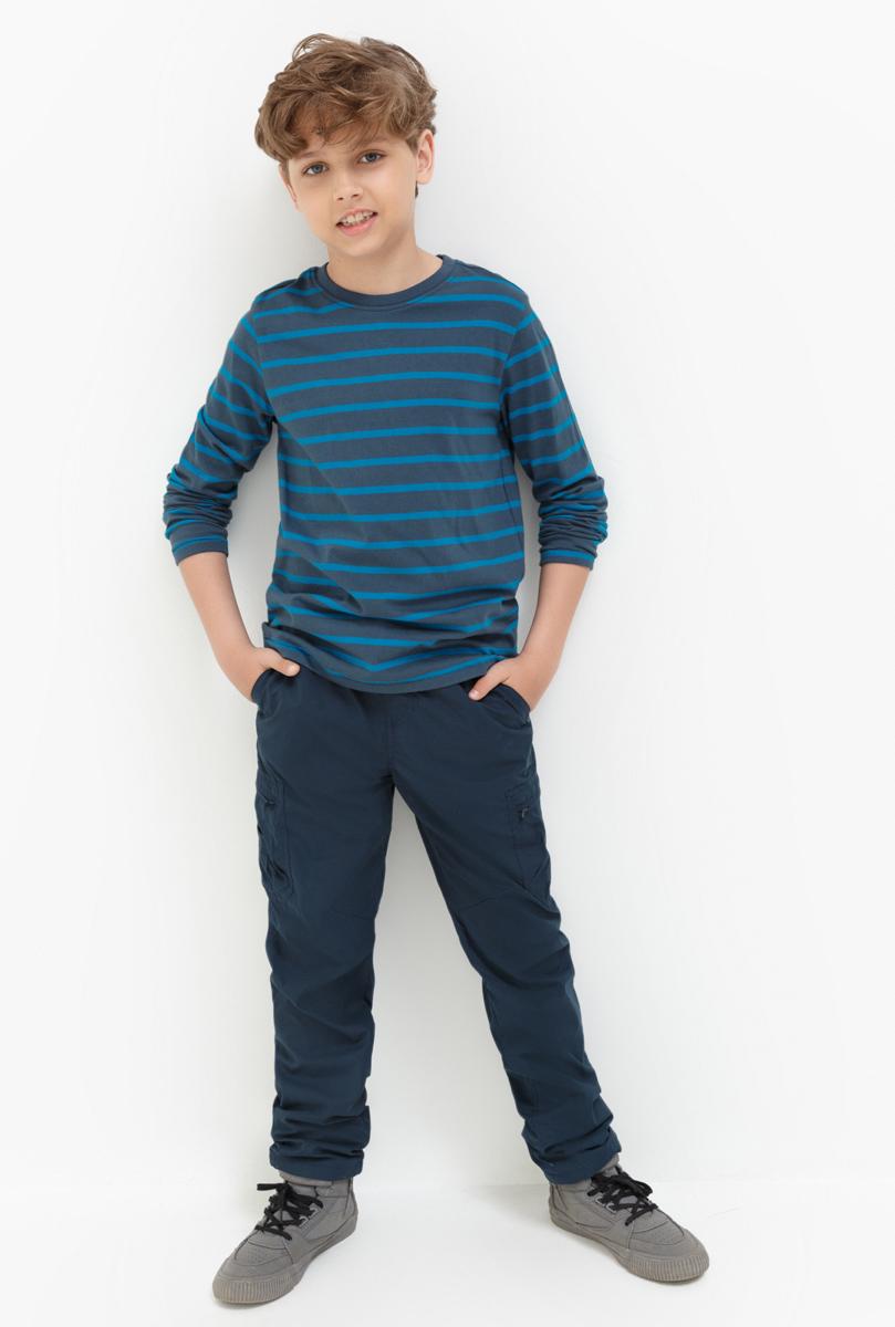 Брюки для мальчика Acoola Kupchino, цвет: темно-синий. 20110160120. Размер 14020110160120Стильные брюки для мальчика Acoola идеально подойдут вашему моднику. Изделие выполнено из качественного материала. Такие брюки займут достойное место в гардеробе вашего ребенка.