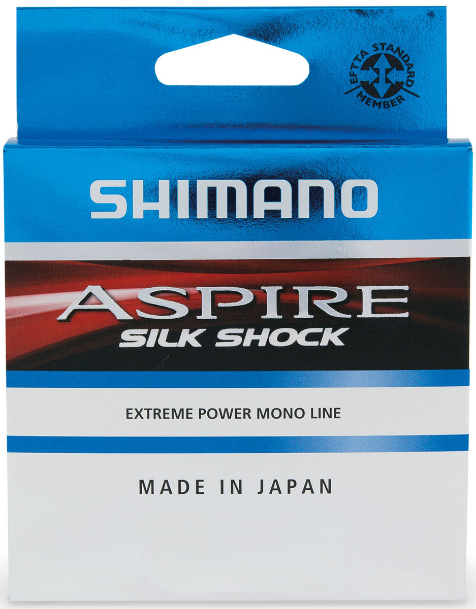 Леска Shimano Aspire Silk Shock, 0,10 мм, 50 м, 1,2 кг