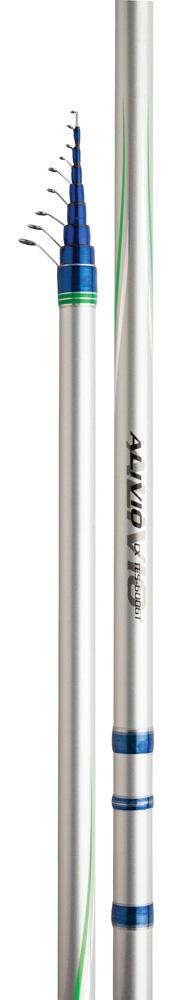 Удилище Shimano Alivio CX TE, 5-600, 4-20 гALCXTE560SHIMANO ALIVIO CX TE 5-600 – качественное шестисоставное телескопическое удилище без колец, самым главным преимуществом которого является высокая надежность в использовании. Кроме того, эта снасть, выполненная на базе прочного, но легкого карбонового бланка XT30 с применением уникальных волокон Geofibre, демонстрирует превосходные функциональные характеристики и имеет длительный срок службы. Удилище SHIMANO ALIVIO CX TE 5-600 оснащено эргономичным катушкодержателем, обеспечивающим качественное крепление катушки, и легкой износостойкой рукоятью для комфортной ловли рыбы в любых условиях. Вам требуется надежное и эффективное удилище начального уровня? Тогда SHIMANO ALIVIO CX TE 5-600 станет для вас идеальным выбором.