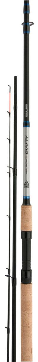 Удилище Shimano Alivio CX Xh Fdr 420, 150 гALCXXHFDRНовая серия фидеров для начинающих Alivio CX имеет отличное соотношение цены и качества и улучшенные показатели при ловле. Производятся в трех различных действиях: легкое (3.35мм), среднее (3.66мм) и мощное (3.96мм). Вы найдете подходящее удилище для любой рыболовной ситуации. Бланк из карбона ХТ30 с добавлением Geofibre оснащен кольцами Hardlite и двумя сменными вершинками.