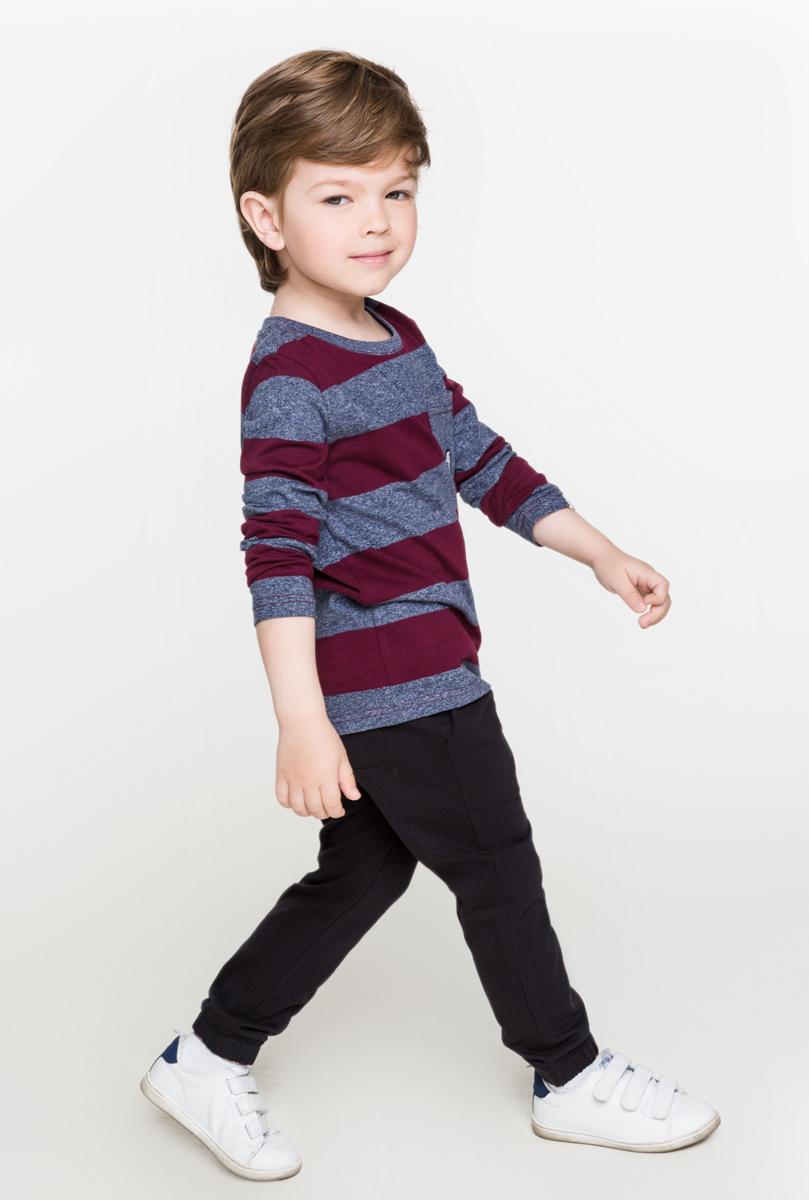 Джемпер для мальчика Acoola Bernina, цвет: бордовый. 20120100090. Размер 11020120100090