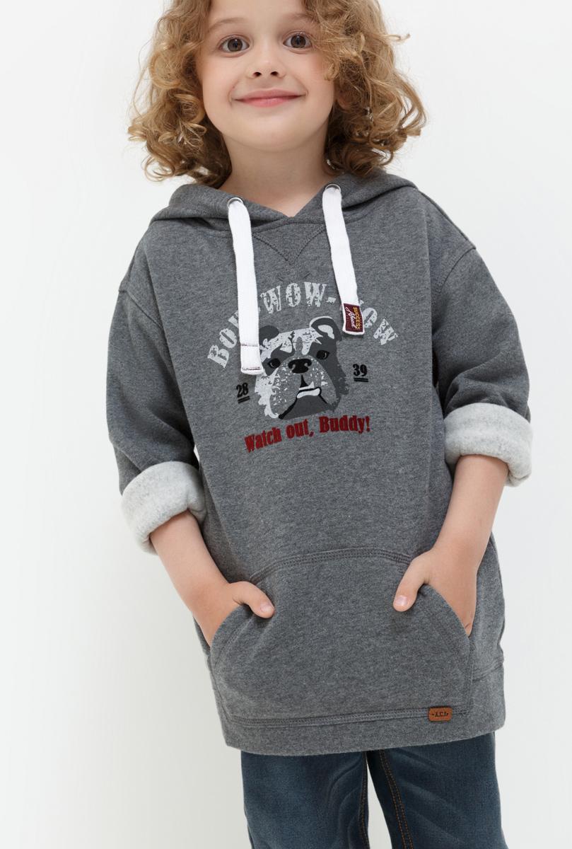 Джемпер для мальчика Acoola Gringas, цвет: серый. 20120100093. Размер 12220120100093